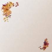 Floral Elegance Illustrated Paper 1