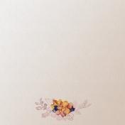 Floral Elegance Illustrated Paper 3