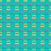 GSM Water Park- Deck Chair Pattern Paper