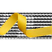 Curly Yellow Ribbon
