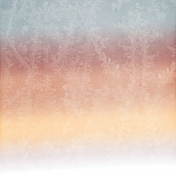 Winter Day Ombre Frost Paper