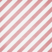 Winter Fun - Snow Baby Paper Pink Stripes