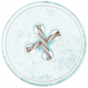Winter Fun- Snow Baby Frosty Button