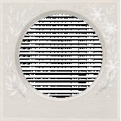 Winter Fun- Snow Baby Vintage Snowflake Frame