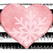 Winter Fun- Snow Baby Snowflake Heart