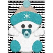 Winter Fun- Snow Baby Blue Snow Baby