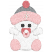 Winter Fun- Snow Baby Pink Snow Baby