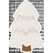 Winter Fun- Snow Baby Snowy Tree