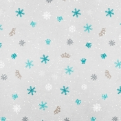 Winter Fun- Snow Baby Winter Prince Paper