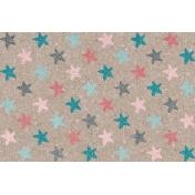 Winter Fun- Snow Baby Stars Journal Card 4x6