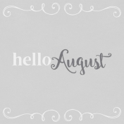 In the Pocket Hello Card- August
