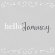 In the Pocket Hello Card- January