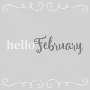 In the Pocket Hello Card- February