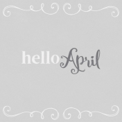 In the Pocket Hello Card- April