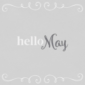 In the Pocket Hello Card- May