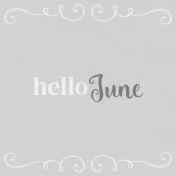 In the Pocket Hello Card- June