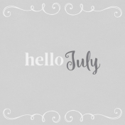 In the Pocket Hello Card- July