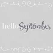 In the Pocket Hello Card- September