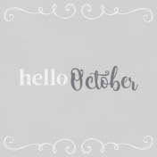 In the Pocket Hello Card- October