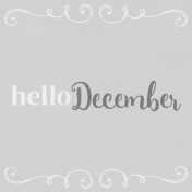 In the Pocket Hello Card- December