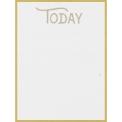 In The Pocket Journal Card [Writable Card] Today- 3x4