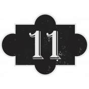 In the Pocket Number Tag- 11