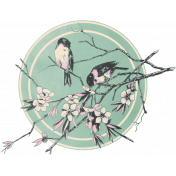 Spring Day Collab- March Winds Birds Tag