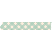Spring Day Collab- March Winds Washi Tape Gingham