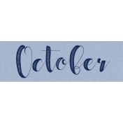 Spring Day Collab- April Showers October Word Art