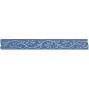 Spring Day Collab- April Showers Blue Washi Tape