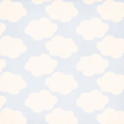 Spring Day Collab- April Showers Clouds and Polka Dots