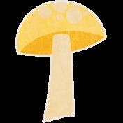 Into the Woods- Yellow Mushroom