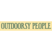 Into the Woods- Outdoorsy People Word Art