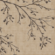 Into the Woods- Branch Gingham Paper