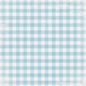 Into the Woods - Light Blue Gingham Paper