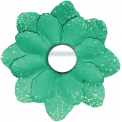 Nature Escape- Green Flower