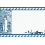 Destination Florida Beach Journal Card- Lighthouse 4x6