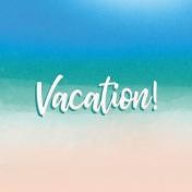 Destination Florida Beach Journal Card- Vacation 4x4