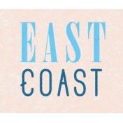 Destination Florida Beach East Coast Word Art