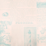 Destination Florida Beach Florida Lighthouse Paper