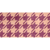 Family Day Houndstooth Ribbon