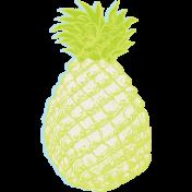 Summer Lovin' July 2017 Blog Train- Pineapple