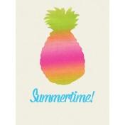 Summer Lovin' July 2017 Blog Train- 3x4 Summertime Journal Card