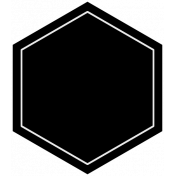 Family Day Template Hexagon Tag