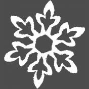 Winter Day Template- Snowflake 01