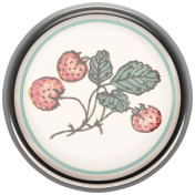 Garden Tales Mini Kit- Strawberries Porcelain Button