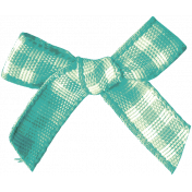 Garden Tales Elements- Gingham Bow