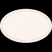 Garden Tales Elements- Purple Oval Label