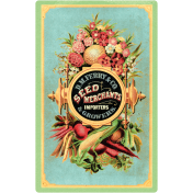 Garden Tales Elements- Victorian Vegetables Card