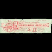 Garden Tales Elements- Vintage Seed Ephemera